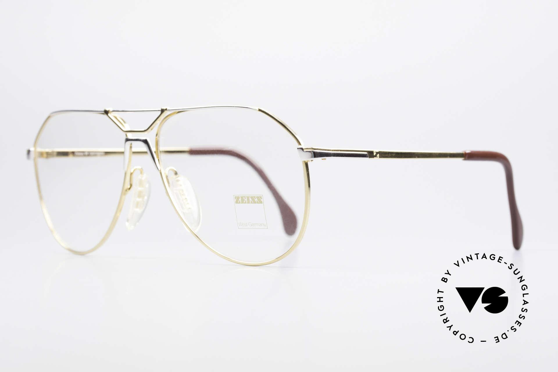 Zeiss 5897 West Germany Qualitätsbrille, wie aus einem Stück ... und für die Ewigkeit gemacht, Passend für Herren