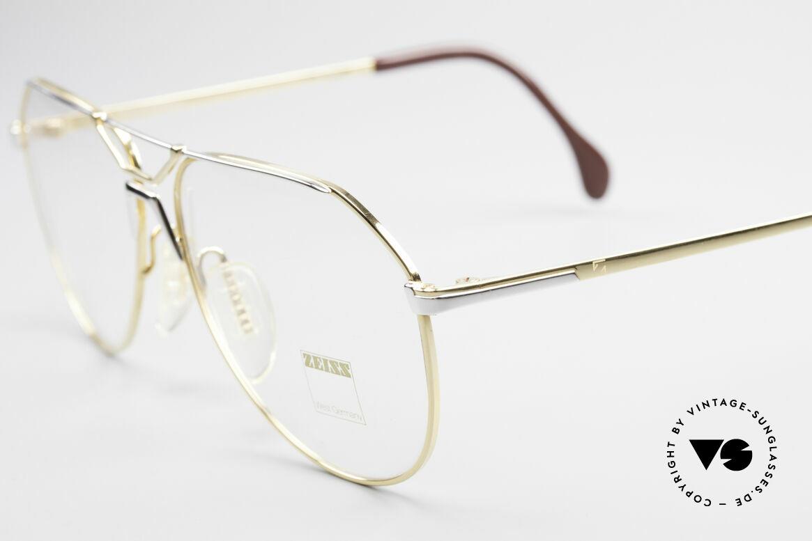 Zeiss 5897 West Germany Qualitätsbrille, außergewöhnliche Rahmenform mit edler Kolorierung, Passend für Herren