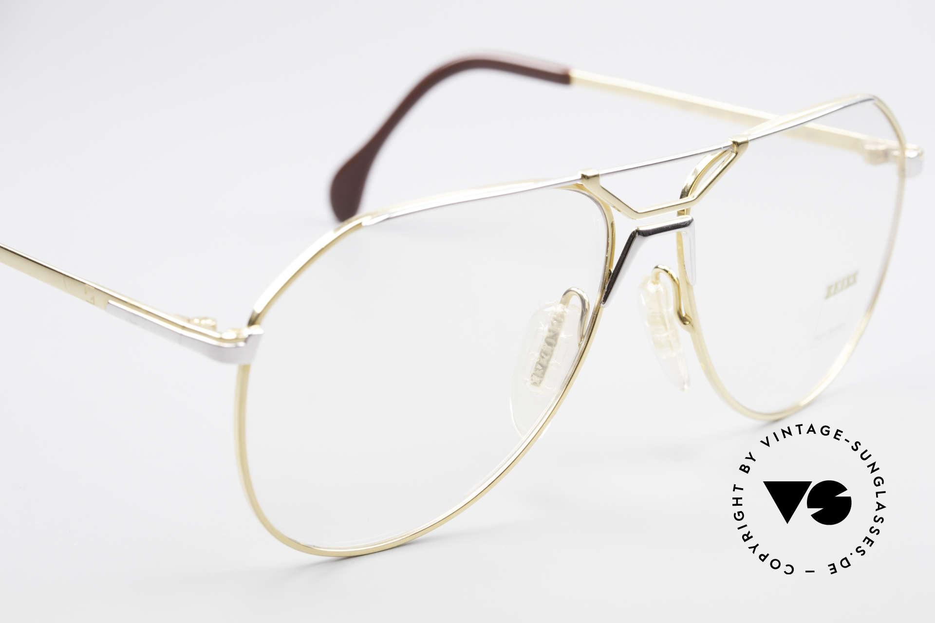 Zeiss 5897 West Germany Qualitätsbrille, ungetragen (wie alle unsere alten Brillen von ZEISS), Passend für Herren