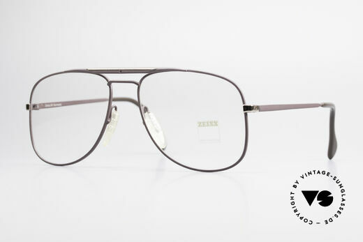 Zeiss 5886 Alte 80er Vintage Brille Aviator Details