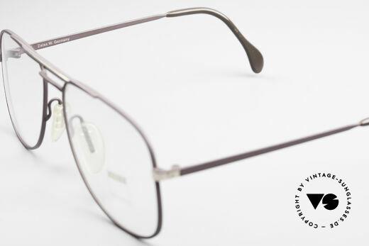 Zeiss 5886 Alte 80er Vintage Brille Aviator, Fassung gemacht für optische Gläser / Sonnengläser, Passend für Herren
