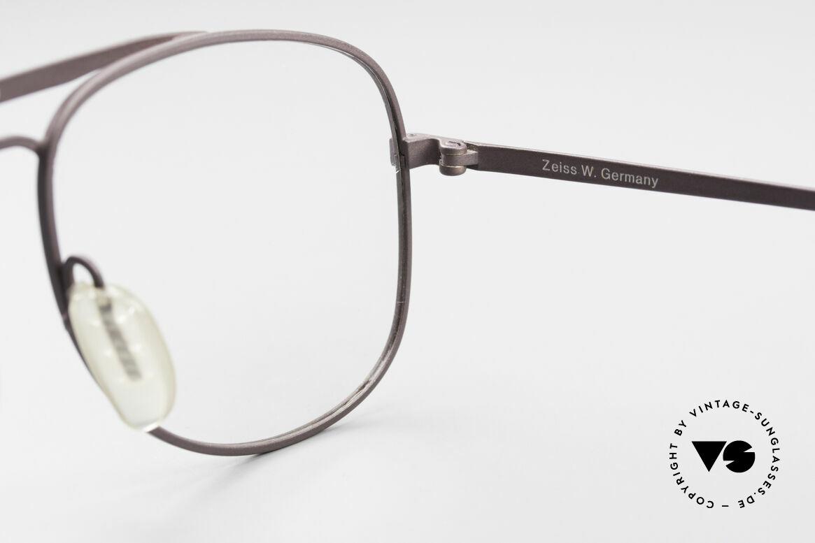 Zeiss 5886 Alte 80er Vintage Brille Aviator, Größe: large, Passend für Herren