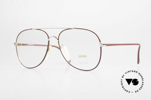 Zeiss 5882 Alte 80er Vintage Brille Herren Details