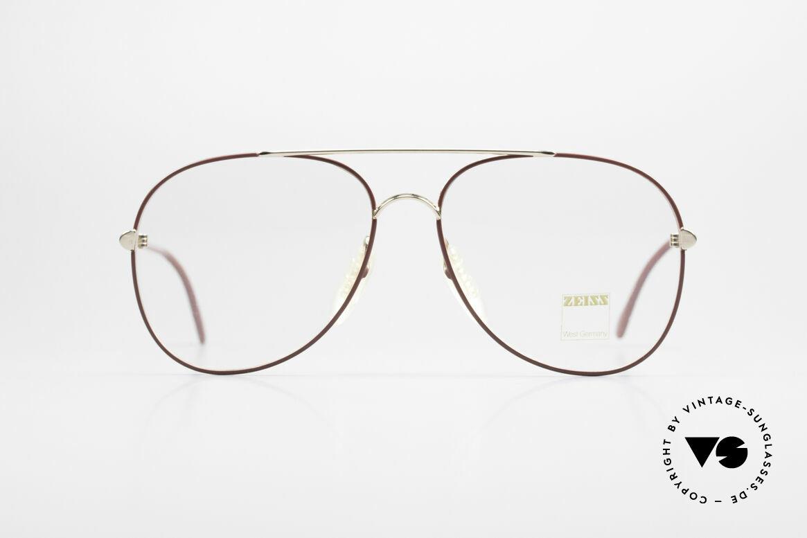 Zeiss 5882 Alte 80er Vintage Brille Herren