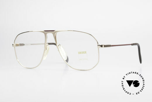 Zeiss 5871 West Germany Brille Herren Details