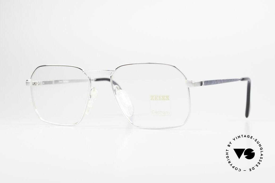 Zeiss 5922 Original Alte 90er Fassung, robuste Zeiss vintage Brillenfassung von circa 1990, Passend für Herren