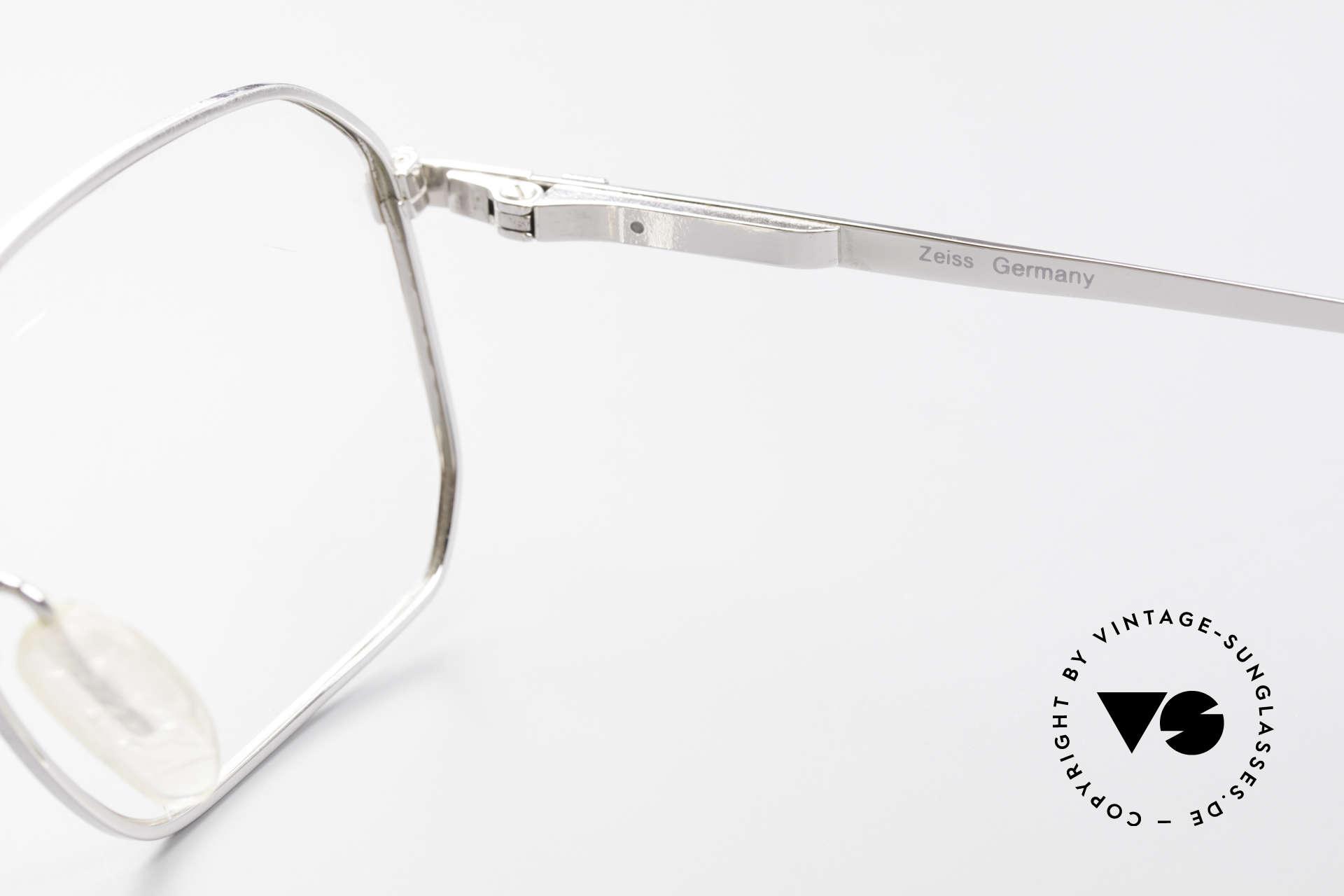 Zeiss 5922 Original Alte 90er Fassung, Fassung gemacht für optische Gläser / Sonnengläser, Passend für Herren