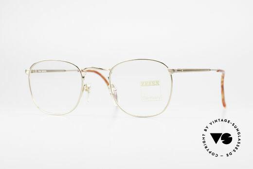 Zeiss 5988 Alte Vintage Brille Herren 90er Details