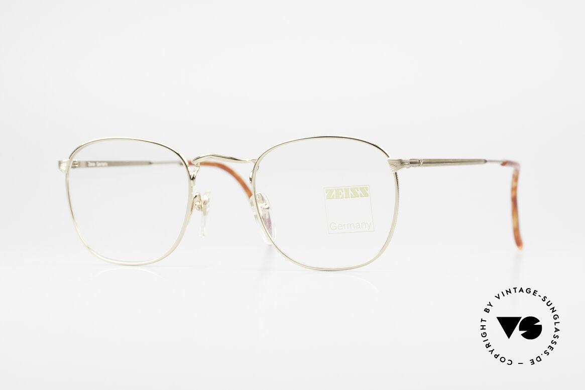 Zeiss 5988 Alte Vintage Brille Herren 90er, robuste Zeiss vintage Brillenfassung von circa 1990, Passend für Herren