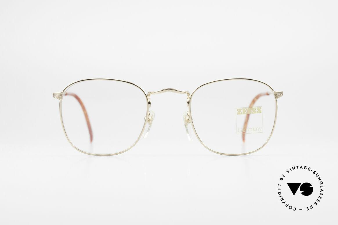 Zeiss 5988 Alte Vintage Brille Herren 90er, fühlbare 'MADE IN GERMANY' Qualität der Fassung, Passend für Herren