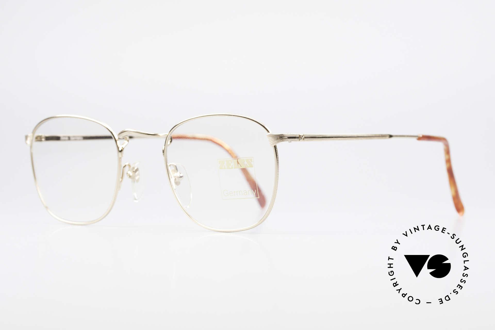 Zeiss 5988 Alte Vintage Brille Herren 90er, wie aus einem Stück; KLEINE Größe; zeitlose Form, Passend für Herren