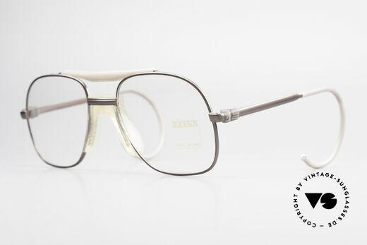 Zeiss 7037 80er Old School Sportbrille Details