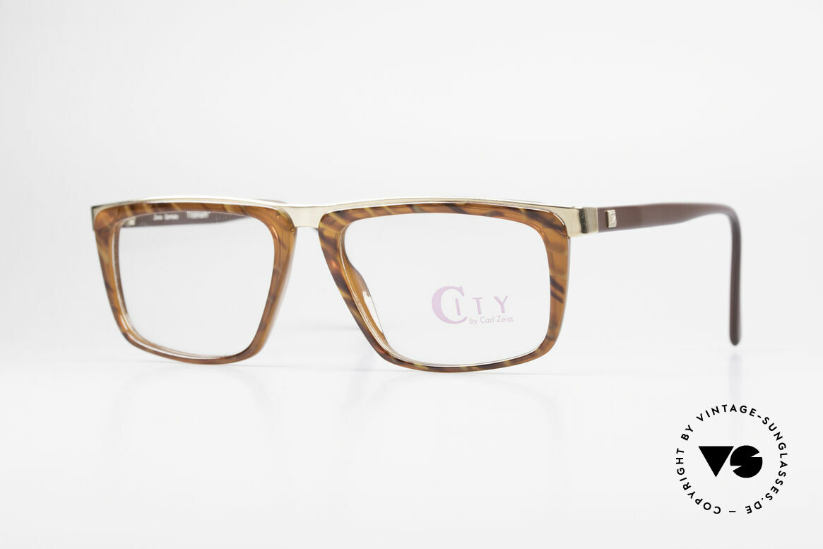 Zeiss 5967 90er Titanium Brille Herren, vintage Zeiss Titanium Brillenfassung von ca. 1990, Passend für Herren
