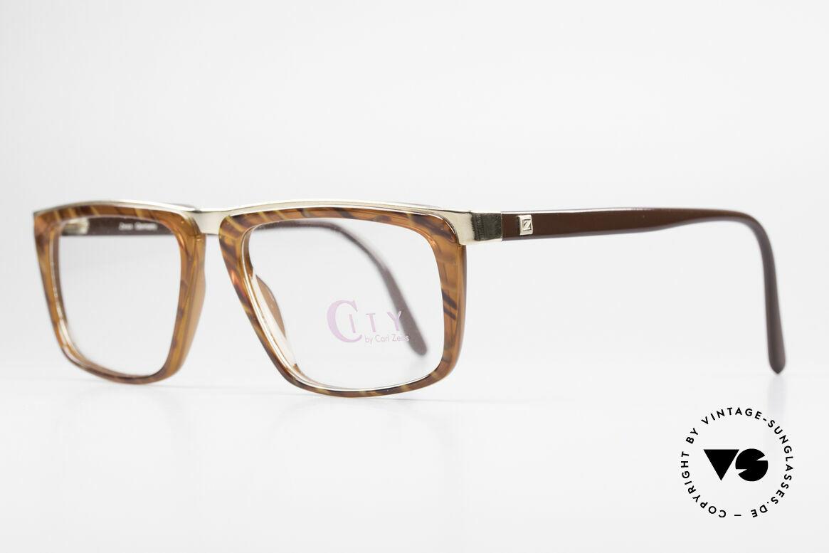 Zeiss 5967 90er Titanium Brille Herren, sehr edle Kombination der Materialien und Farben, Passend für Herren