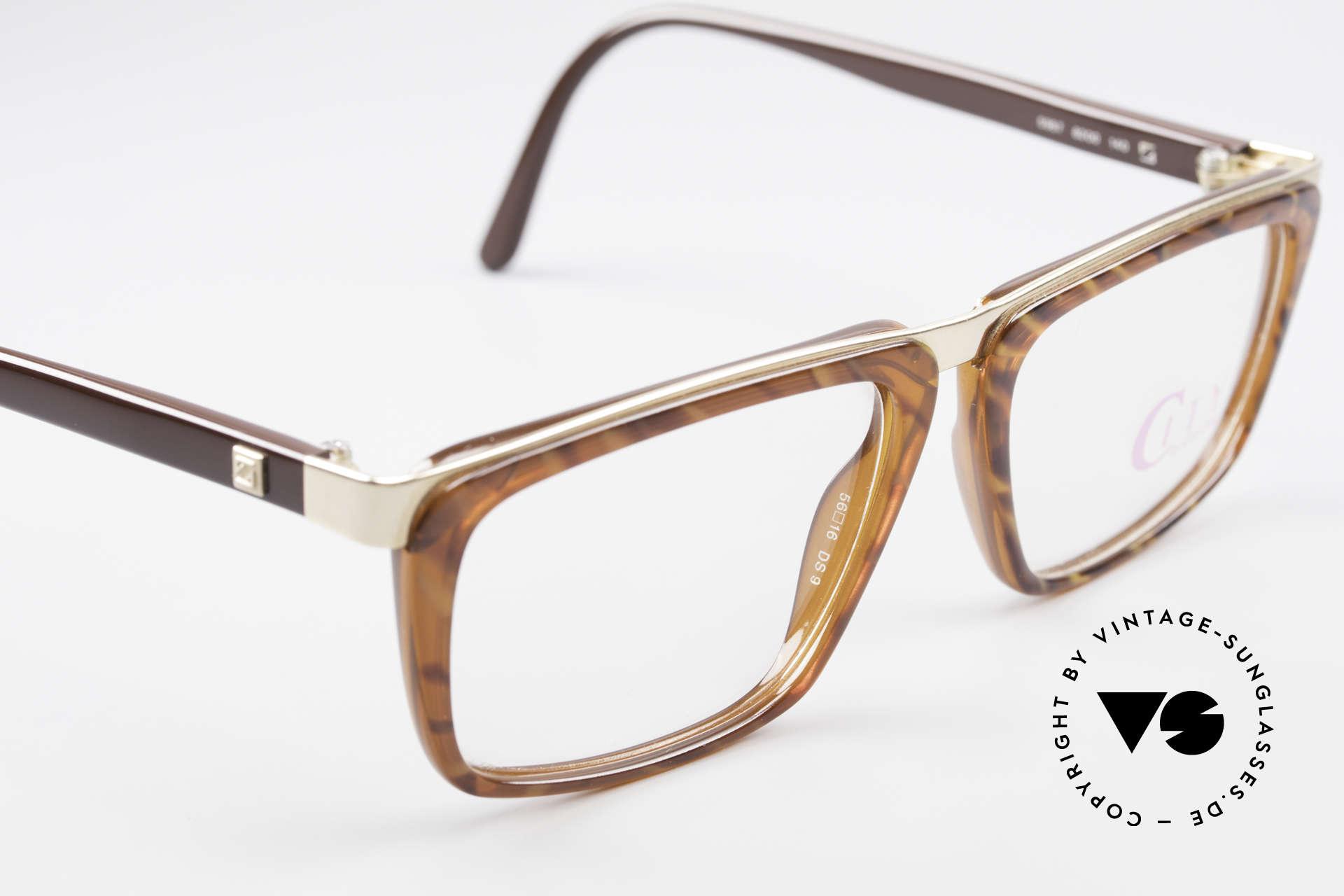 Zeiss 5967 90er Titanium Brille Herren, Fassung gemacht für optische Gläser / Sonnengläser, Passend für Herren