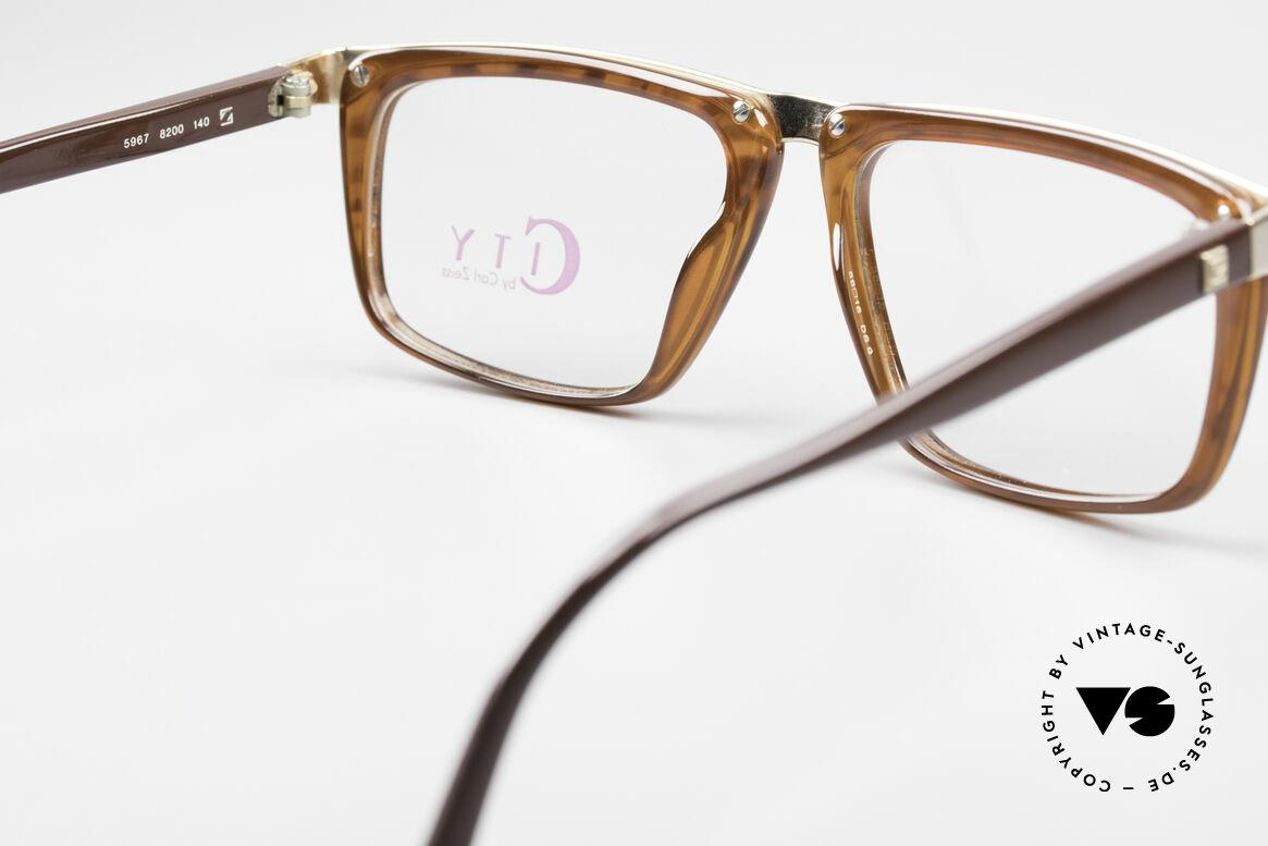 Zeiss 5967 90er Titanium Brille Herren, Größe: medium, Passend für Herren