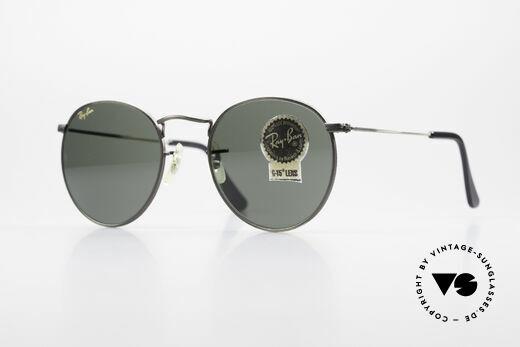 Ray Ban Round Metal 49 Runde Vintage Sonnenbrille Details