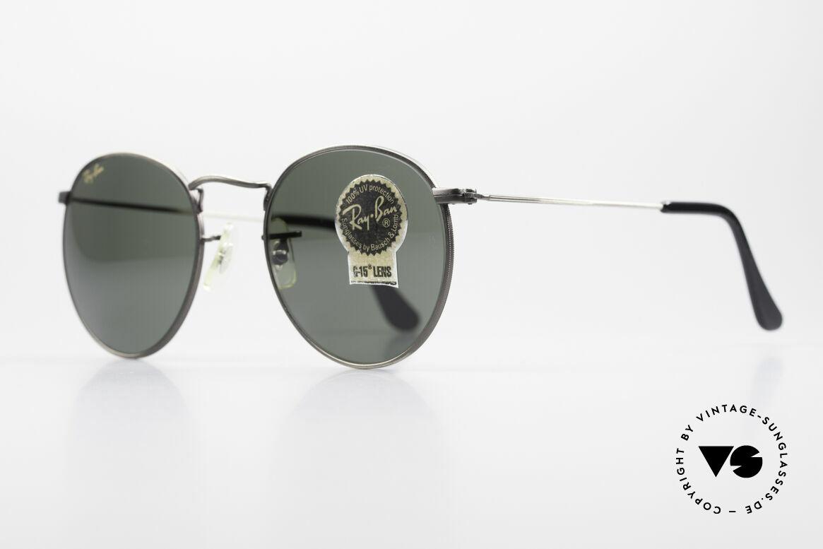 sonnenbrillen ray ban round metal 49 runde vintage. Black Bedroom Furniture Sets. Home Design Ideas