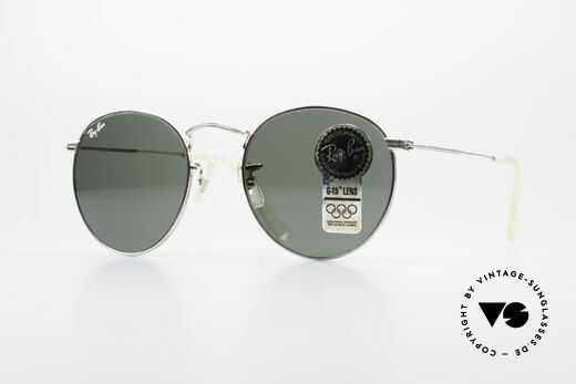 Ray Ban Round Metal 49 Runde Ray-Ban Sonnenbrille Details