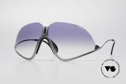 Porsche 5630 Vintage Designer Sportbrille Details