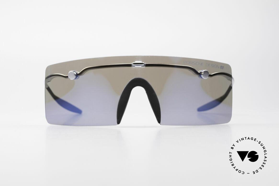 Porsche 5693 F09 Faltbrille Blue Mirrored, Porsche Design by Carrera 5693 70 6755 'S' F0.9 Brille, Passend für Herren