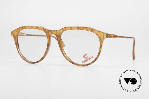 Carrera 5361 Vintage 90er Panto Brille Optyl Details