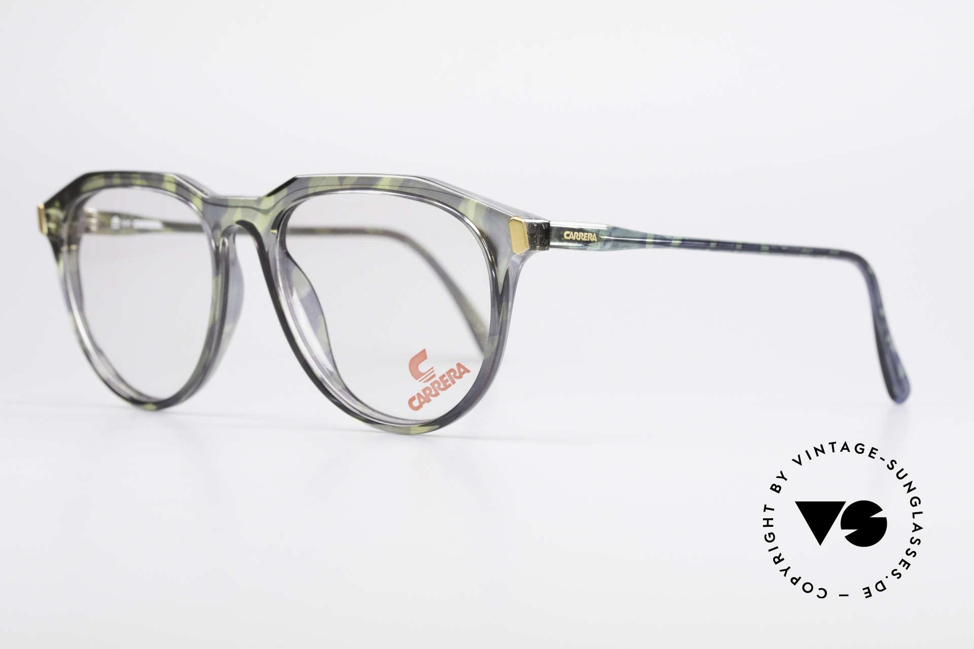 Carrera 5361 Vintage Optyl 90er Panto Brille, sehr leicht & daher entsprechend angenehm zu tragen, Passend für Herren