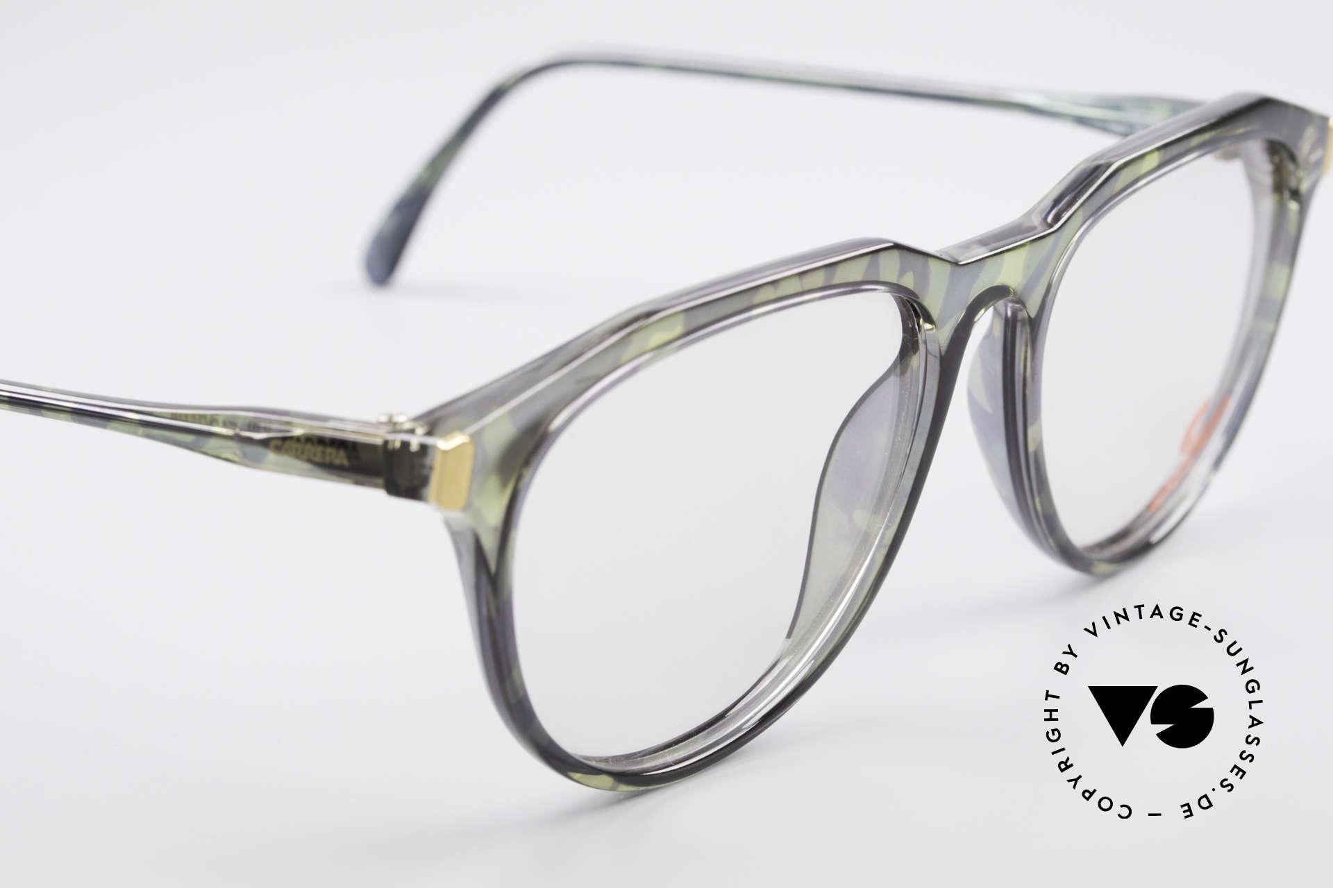 Carrera 5361 Vintage Optyl 90er Panto Brille, KEIN RETRO; ungetragenes ORIGINAL + Movado Beutel, Passend für Herren
