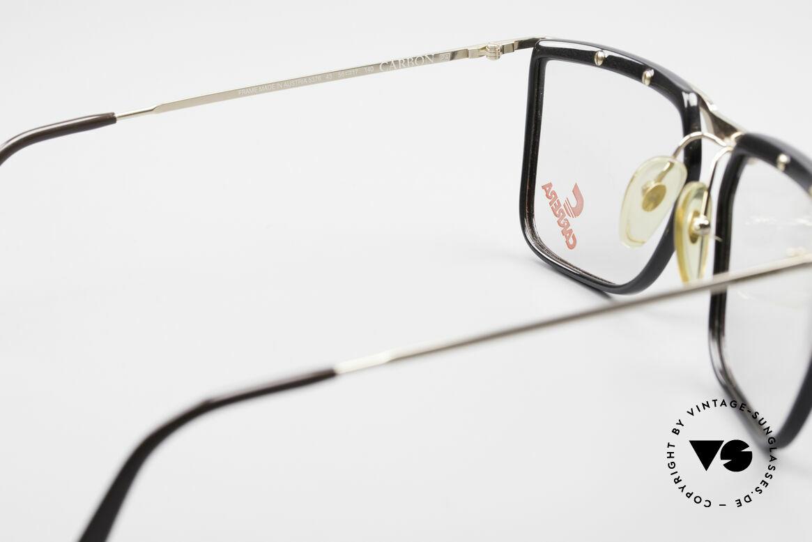 Carrera 5376 Eckige Vintage Brille Carbon