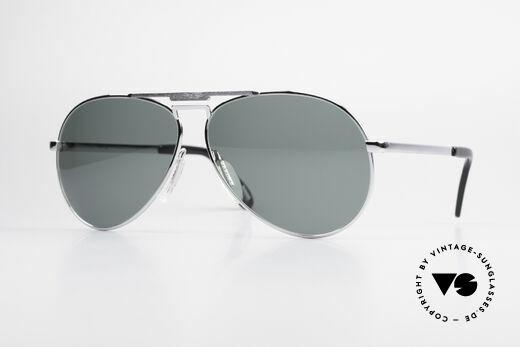 Zeiss 9075 XXL Aviator Sonnenbrille 80er Details