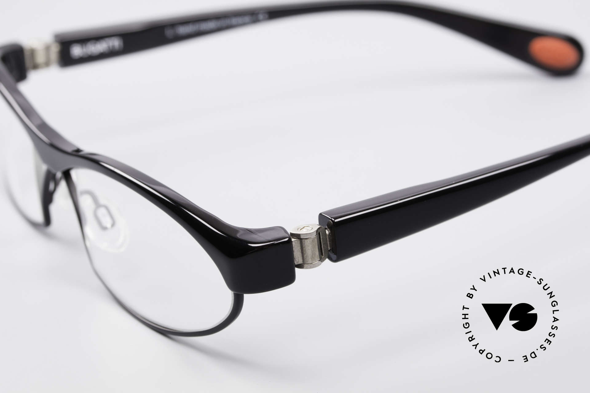 Bugatti 370 Odotype Herren Designer Brille Top, sehr spezielle Glaseinfassung & Top Komfort, Passend für Herren