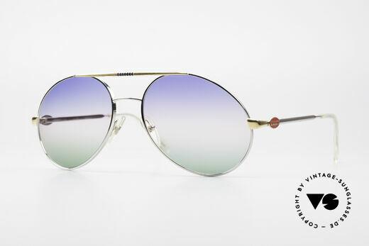 Bugatti 65982 Rare Vintage 80er Sonnenbrille Details