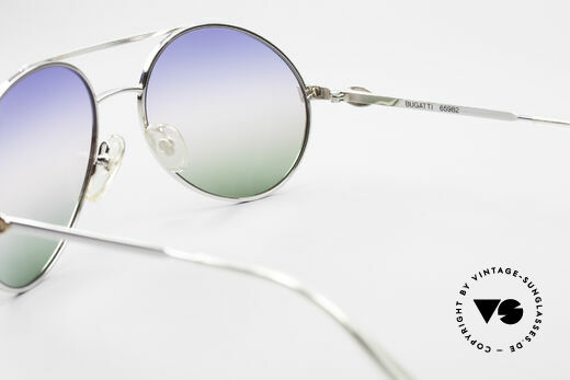 Bugatti 65982 Rare Vintage 80er Sonnenbrille, KEINE RETROBRILLE; eine alte Original-Brille!, Passend für Herren