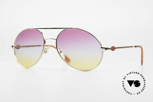 Bugatti 64320 Rare 80er Sonnenbrille Vintage Details