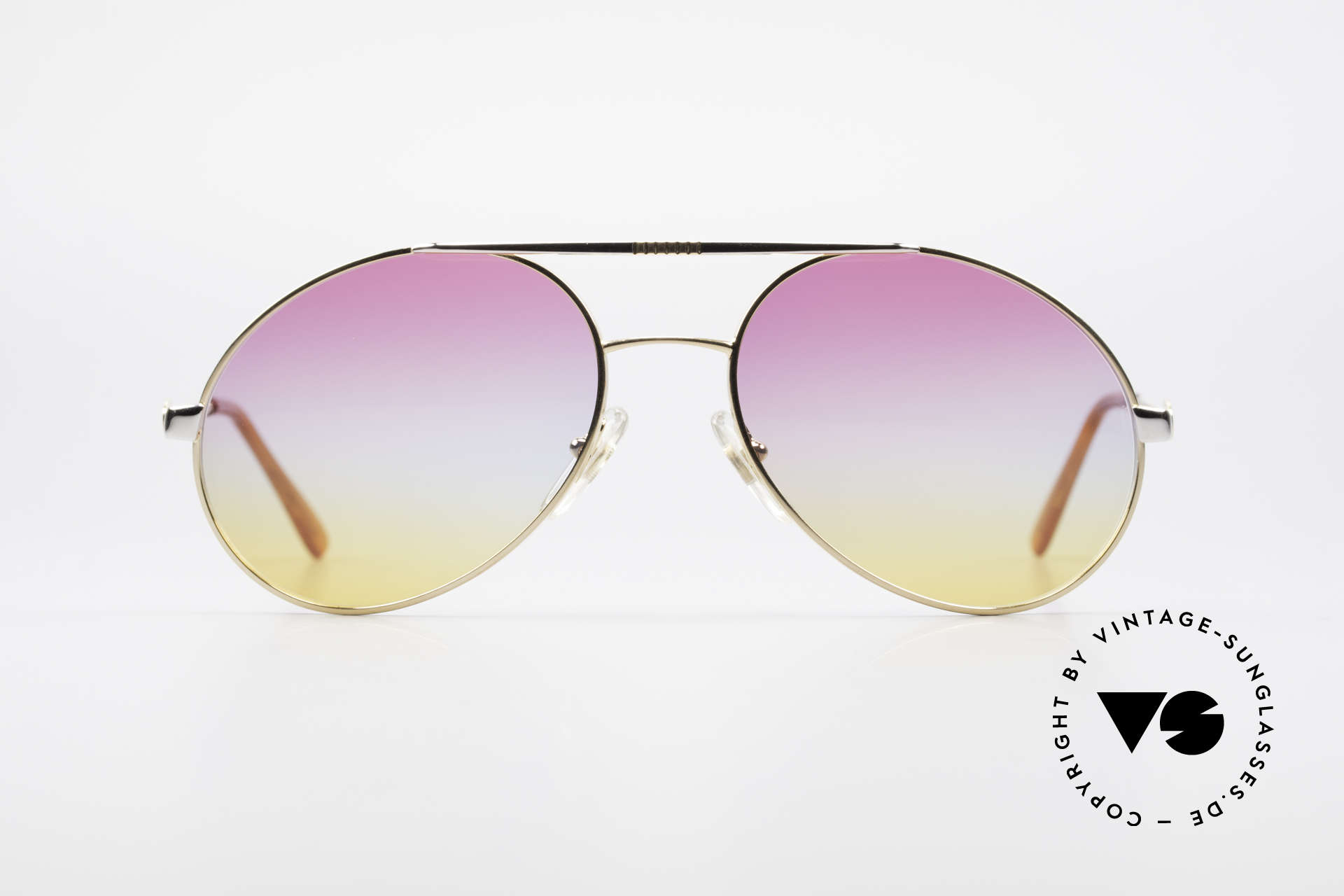 Bugatti 64320 Rare 80er Sonnenbrille Vintage, legendäre Bugatti Brillenform in Top-Qualität, Passend für Herren