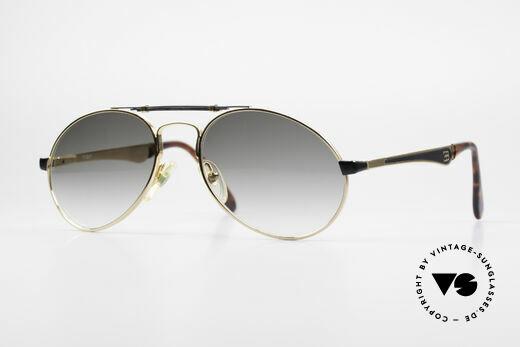 Bugatti 11941 80er Luxus Sonnenbrille Herren Details
