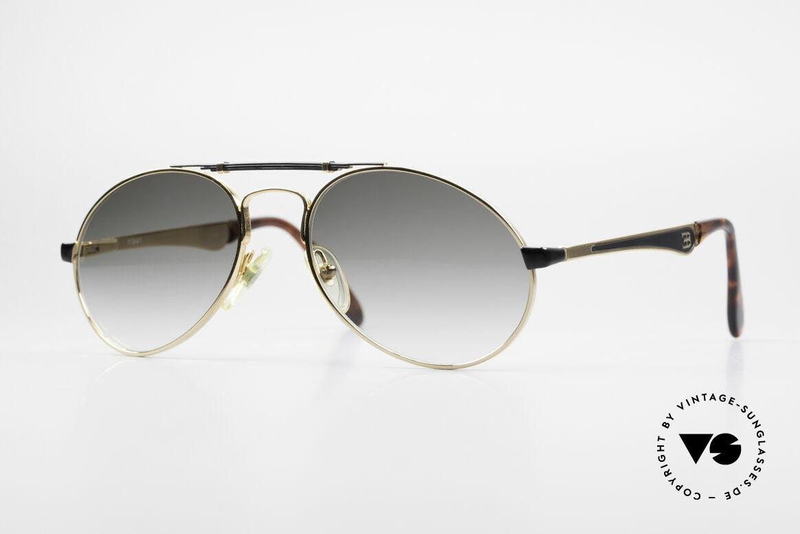 Bugatti 11941 80er Luxus Sonnenbrille Herren