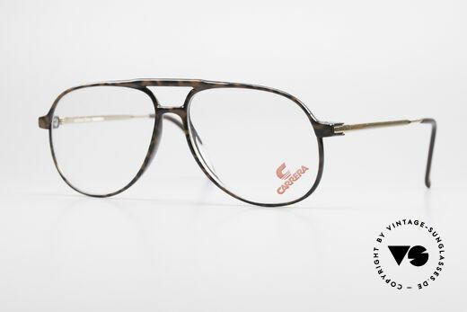Carrera 5355 Kohlefaser Vintage Brille 90er Details