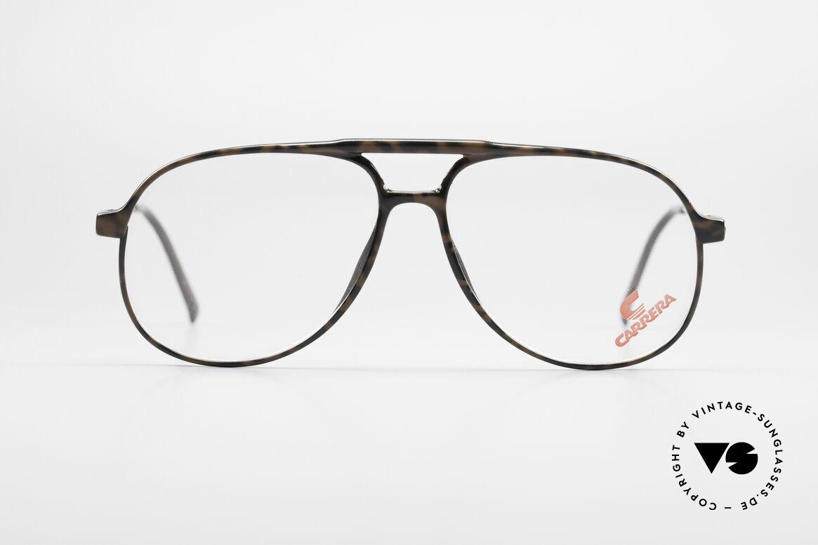Carrera 5355 Kohlefaser Vintage Brille 90er, Kohlefaser Rahmenfront und entsprechend leicht, Passend für Herren