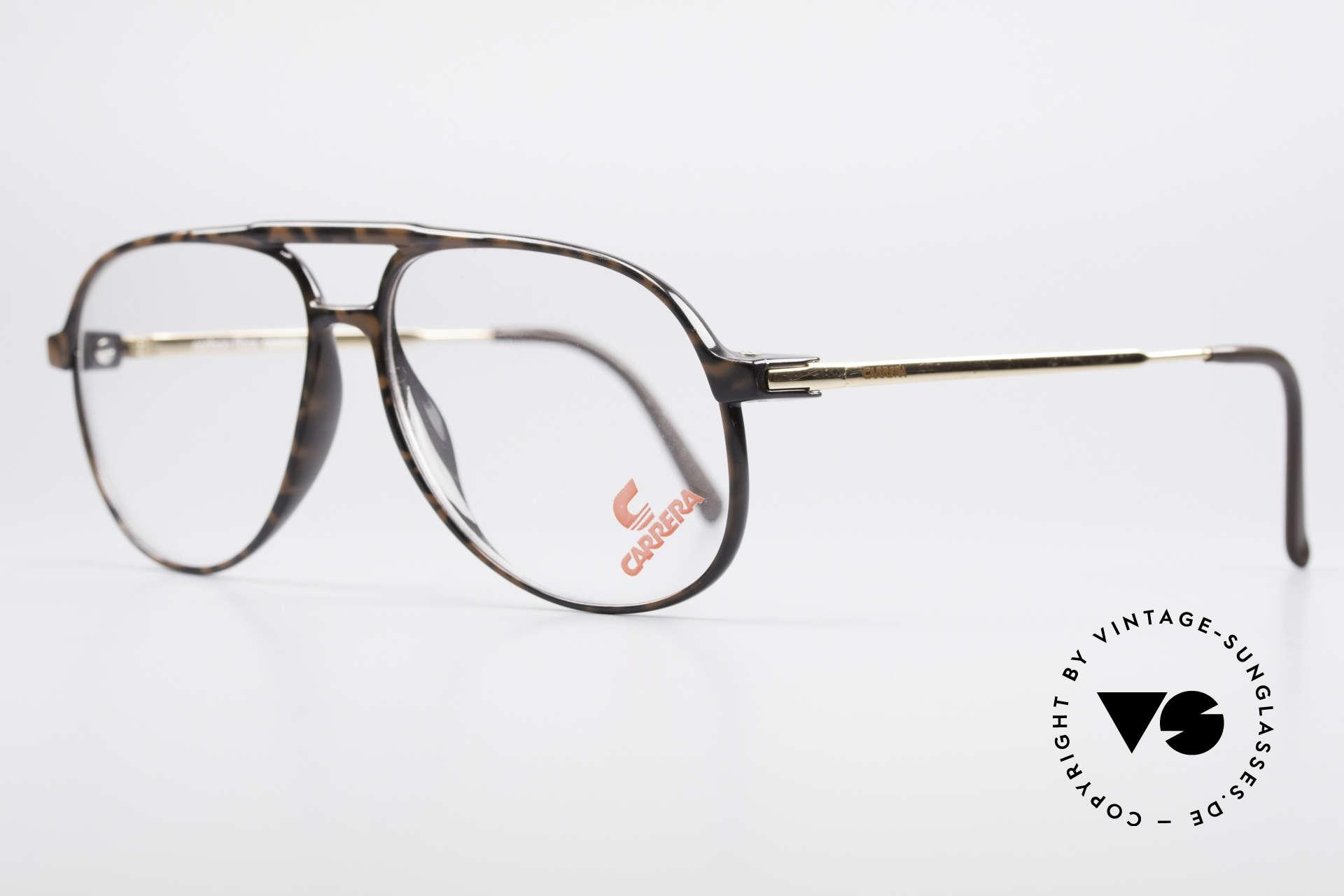 Carrera 5355 Kohlefaser Vintage Brille 90er, enorm komfortabel und sehr angenehm zu tragen, Passend für Herren
