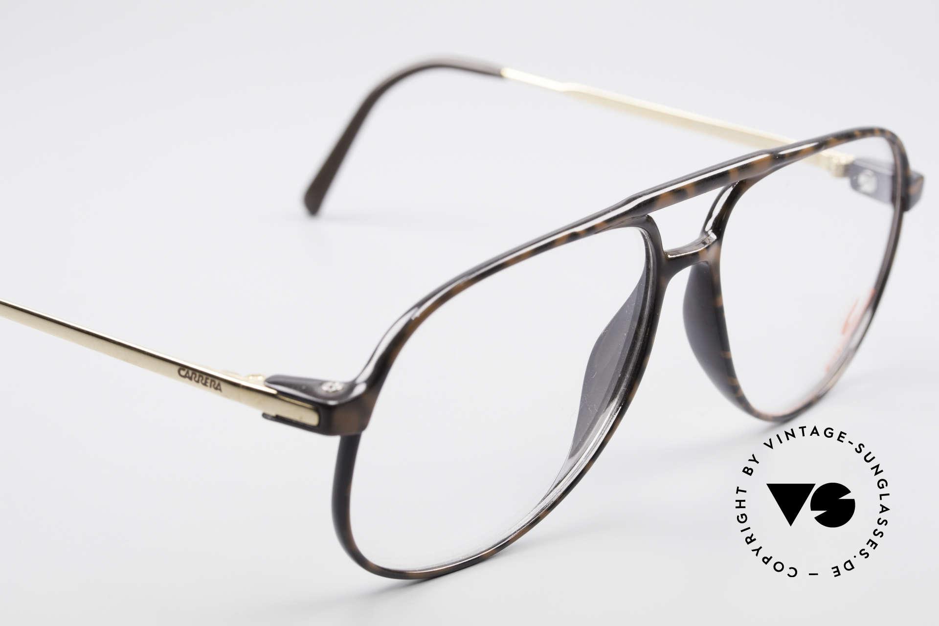 """Carrera 5355 Kohlefaser Vintage Brille 90er, elegante Kolorierung in einer Art """"kaffee-braun"""", Passend für Herren"""