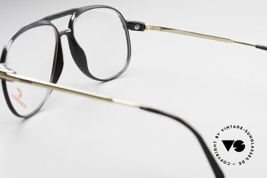 Carrera 5355 Kohlefaser Vintage Brille 90er, ungetragen; mit einem vintage Beutel von Movado, Passend für Herren