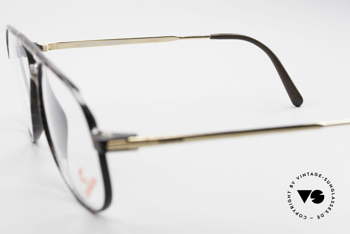 Carrera 5355 Kohlefaser Vintage Brille 90er, KEINE Retrobrille, sondern ein altes 90er Original, Passend für Herren