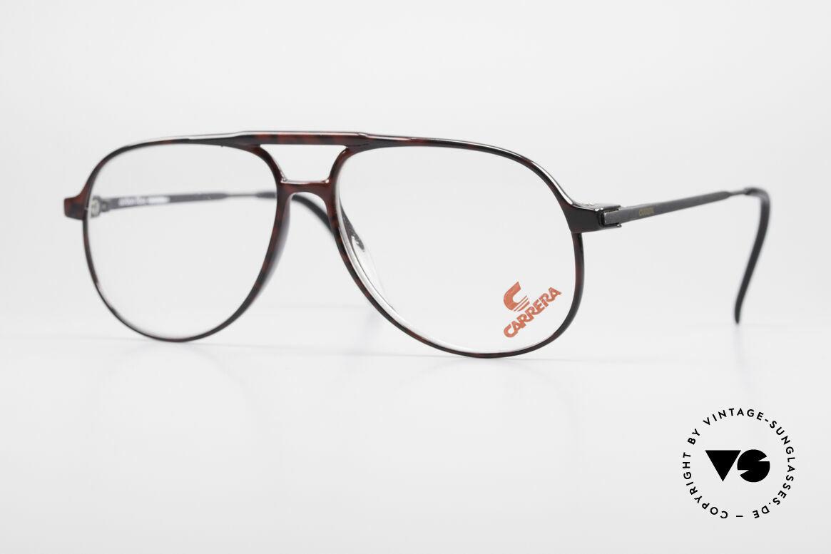 Carrera 5355 Kohlefaser Aviator Brille 90er, Carrera 5355 Carbon Fibre vintage Brille der 90er, Passend für Herren