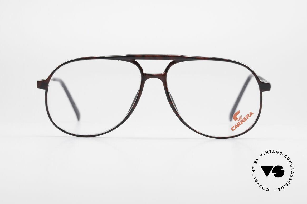 Carrera 5355 Kohlefaser Aviator Brille 90er, Kohlefaser Rahmenfront und entsprechend leicht, Passend für Herren