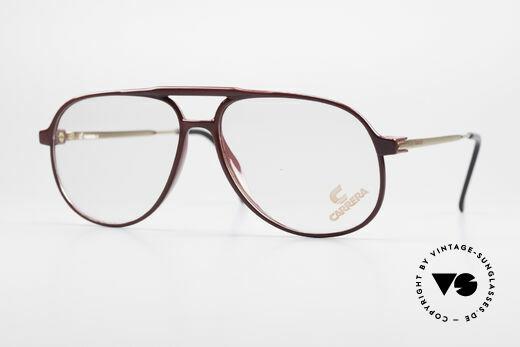 Carrera 5355 Kohlefaser Brille 90er Original Details