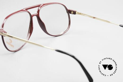 Carrera 5355 Kohlefaser Brille 90er Original, ungetragen; mit einem vintage Beutel von Movado, Passend für Herren