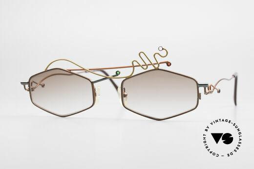 Casanova Autunno Limitierte 90er Sonnenbrille Details