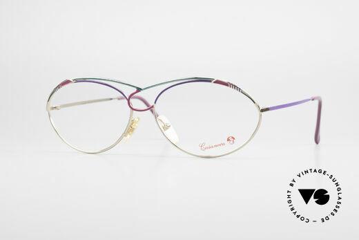Casanova LC13 24kt Vergoldete Damenbrille Details