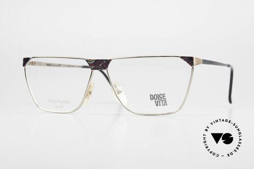 Casanova NM22 Dolce Vita 24kt Vintage Brille Details